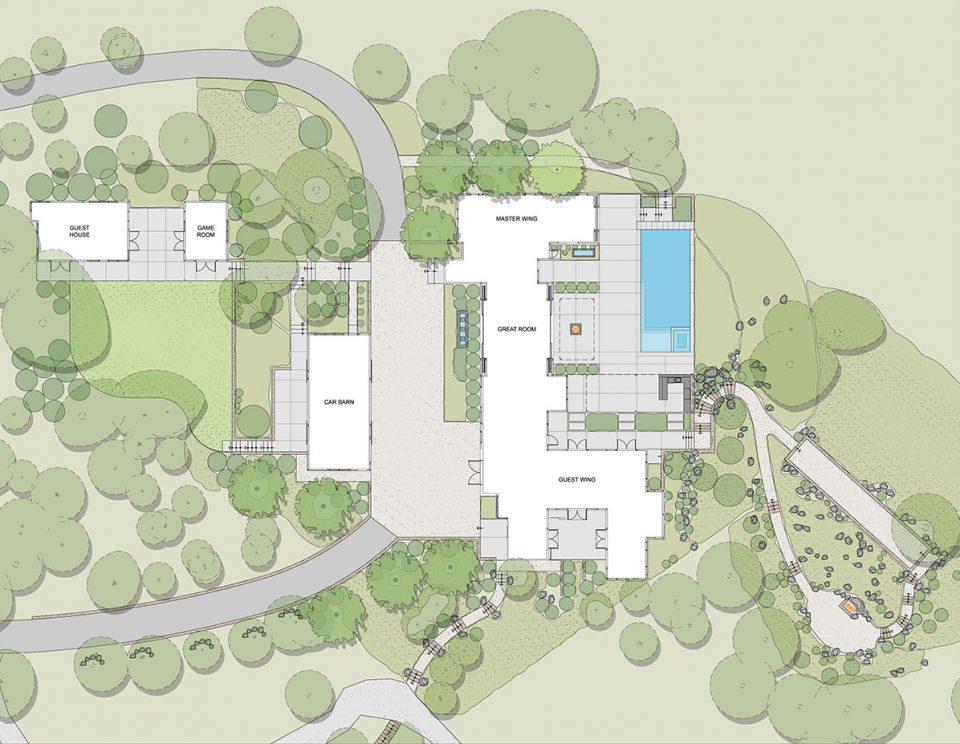 史密斯住宅景观设计