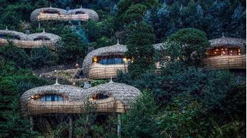 隐于茂密丛林中的豪华酒店——Bisate 度假屋